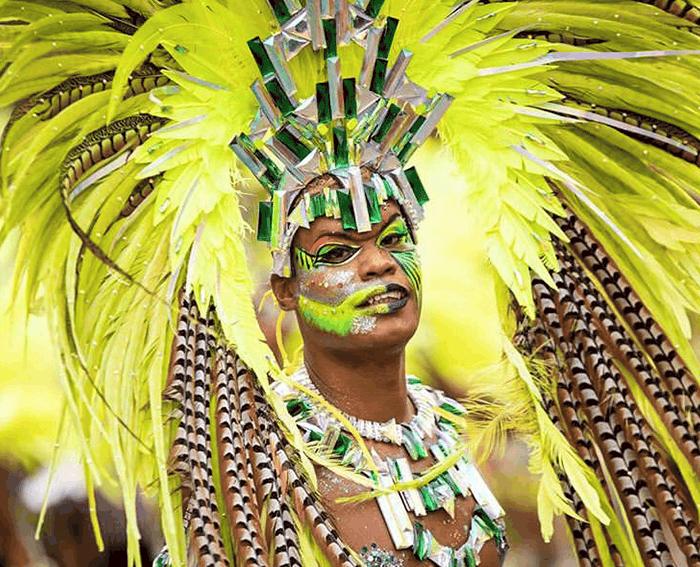 guimbo all stars - O Sole Mio carnaval de guadeloupe